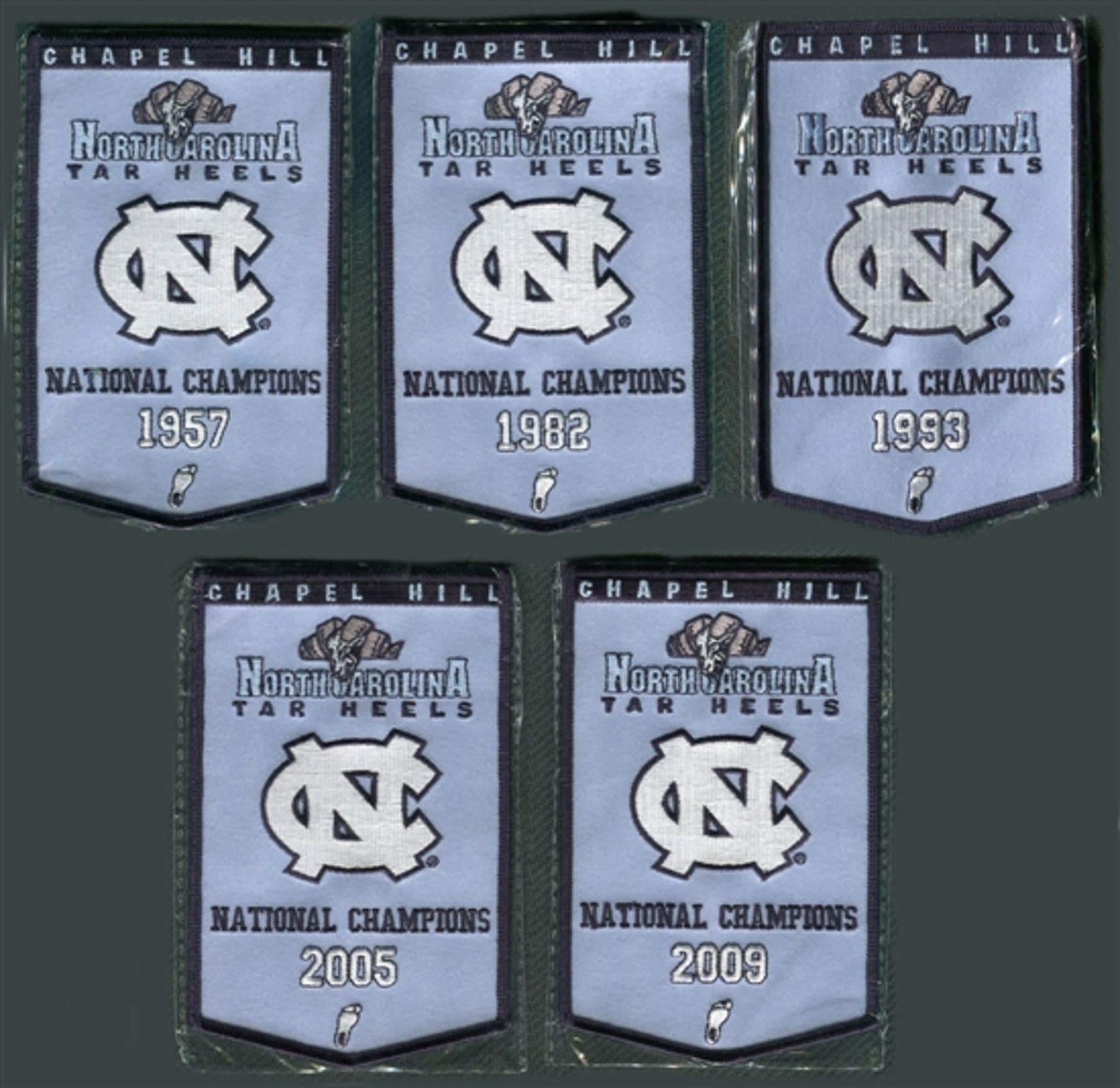 2010/11 Upper Deck UNC North Carolina Basketball Championship Mini ...