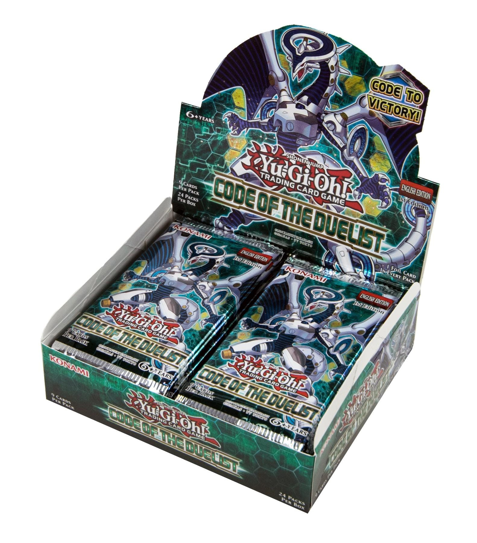 Yu-Gi-Oh! Code Of The Duelist Booster Box