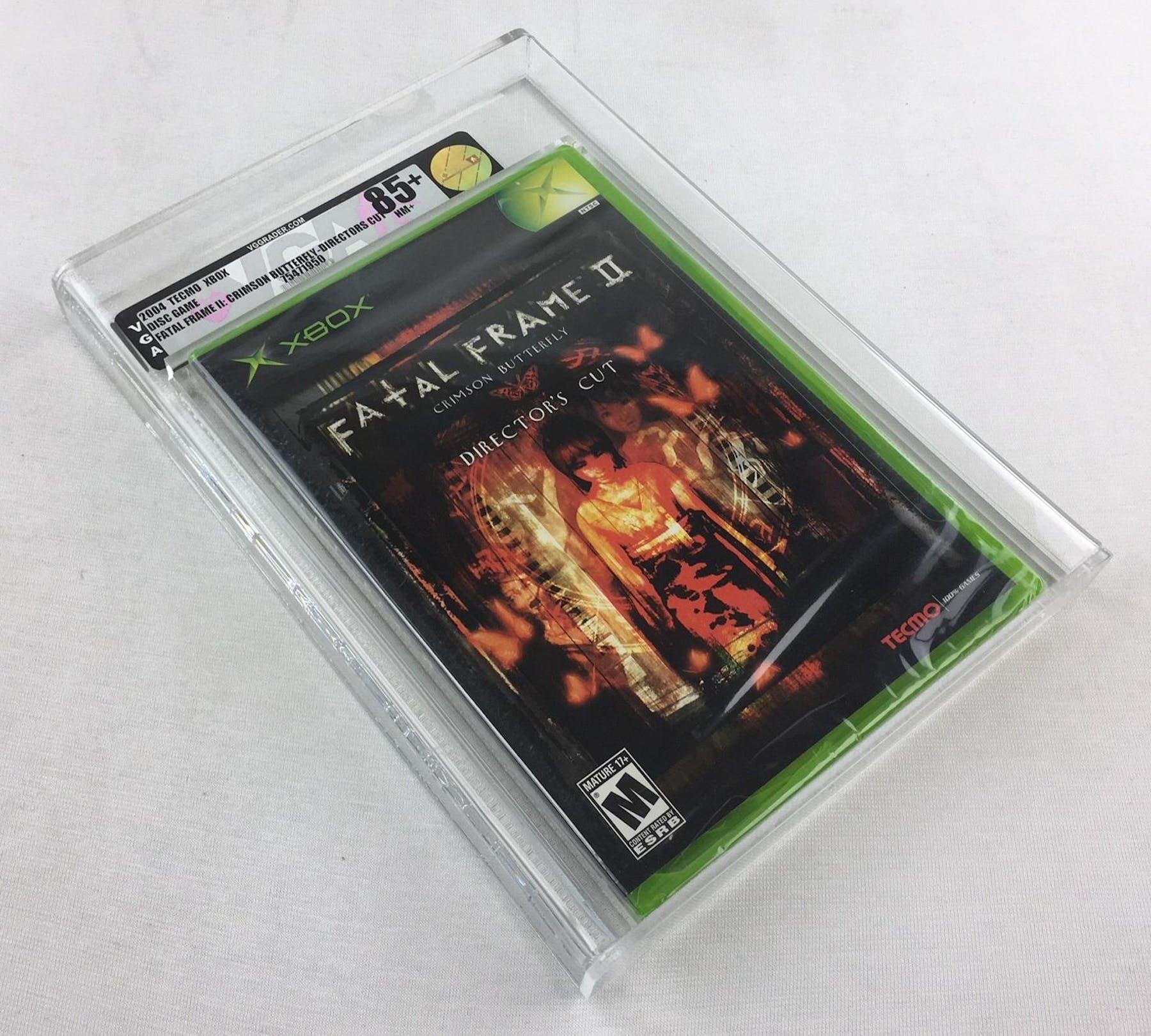 Microsoft Xbox Fatal Frame 2 Crimson Butterfly Director\'s Cut VGA 85 ...