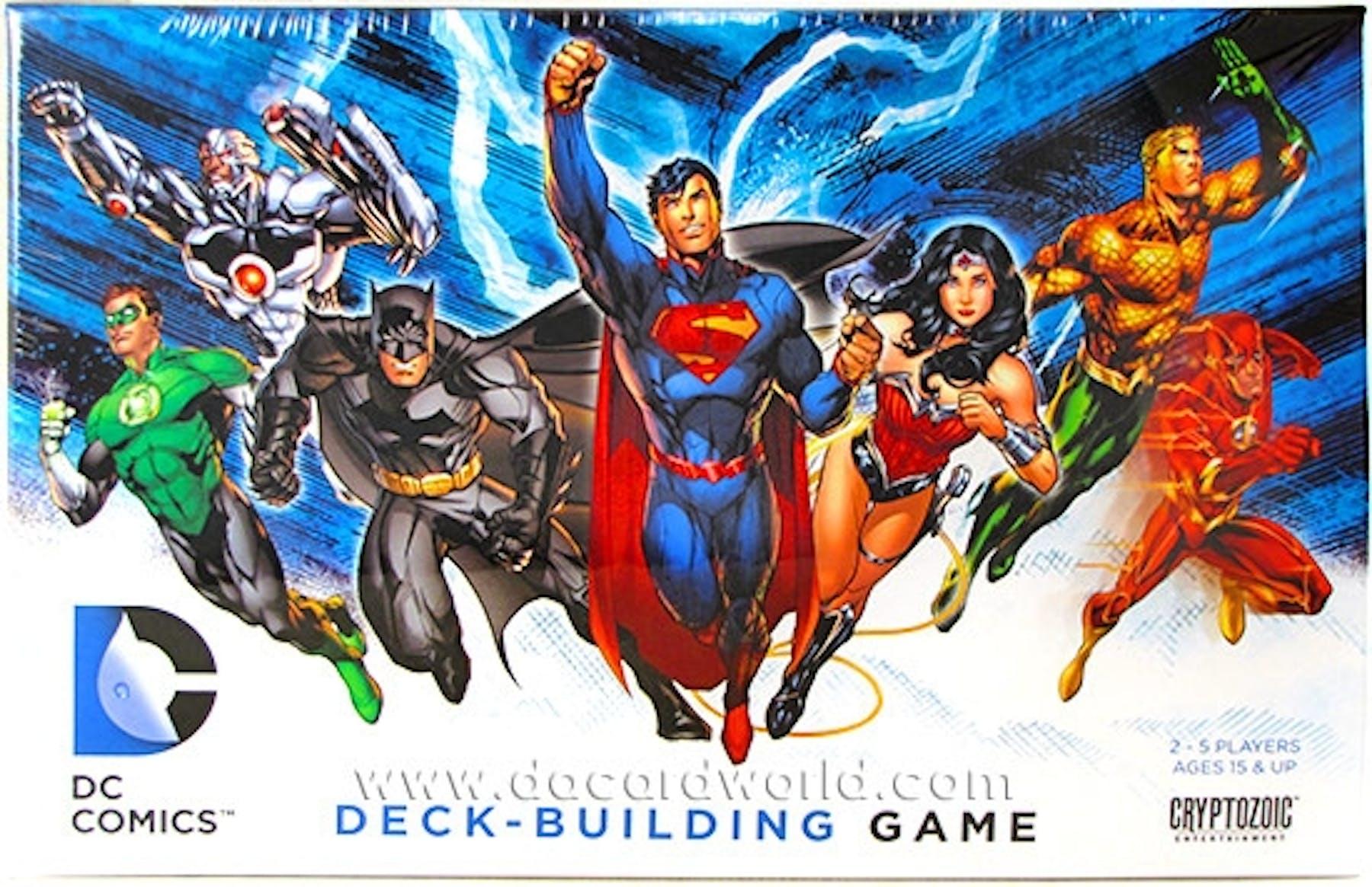 Deck Building Games Dc