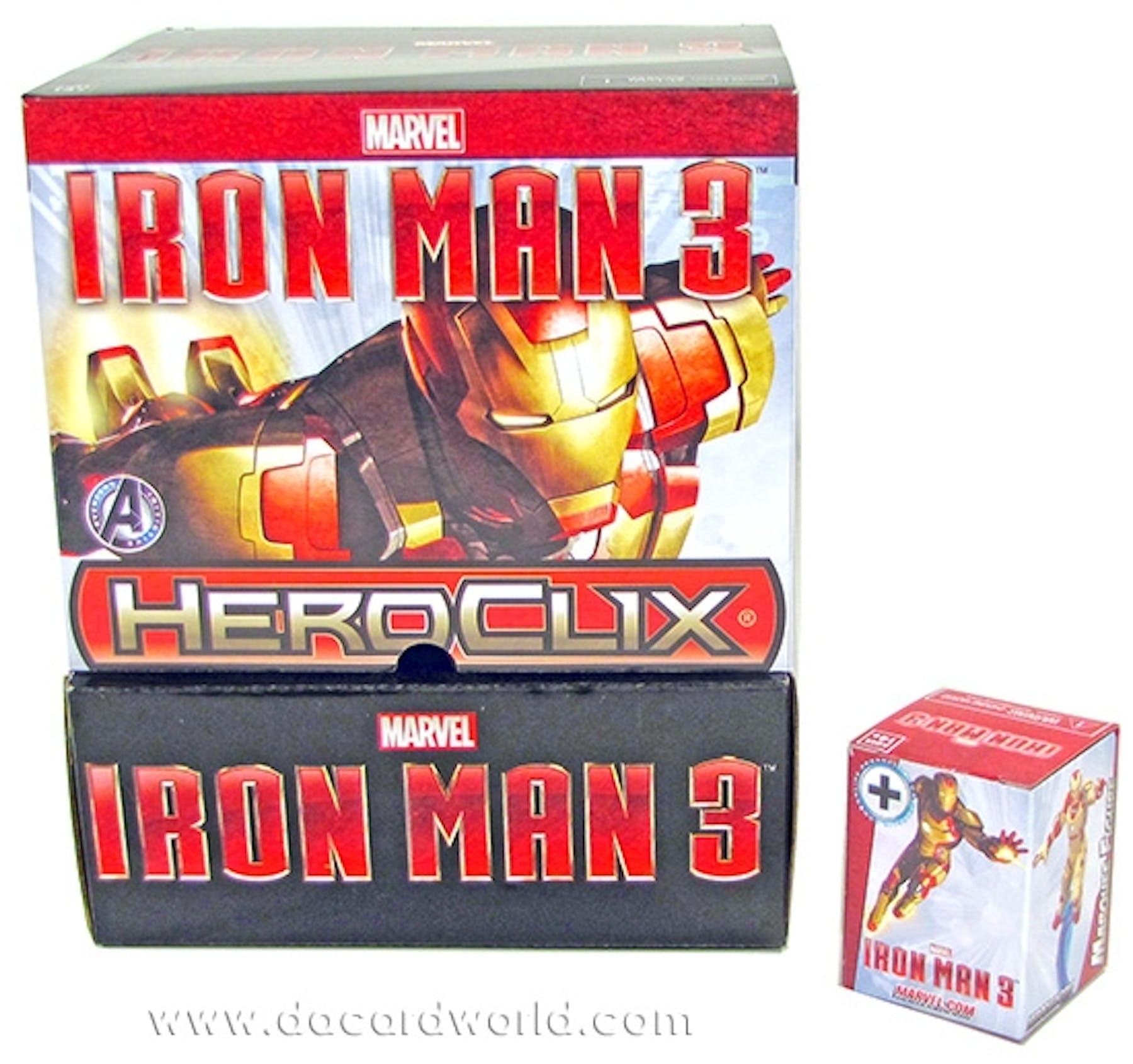 Marvel HeroClix Iron Man 3 24-Pack Booster Box