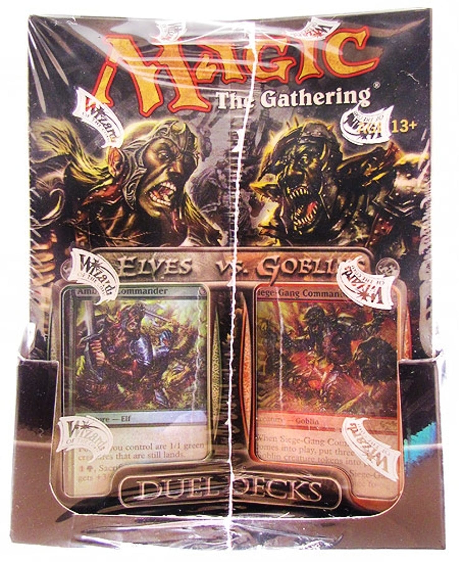 Magic The Gathering Elves Vs Goblins Duel Deck Box 6