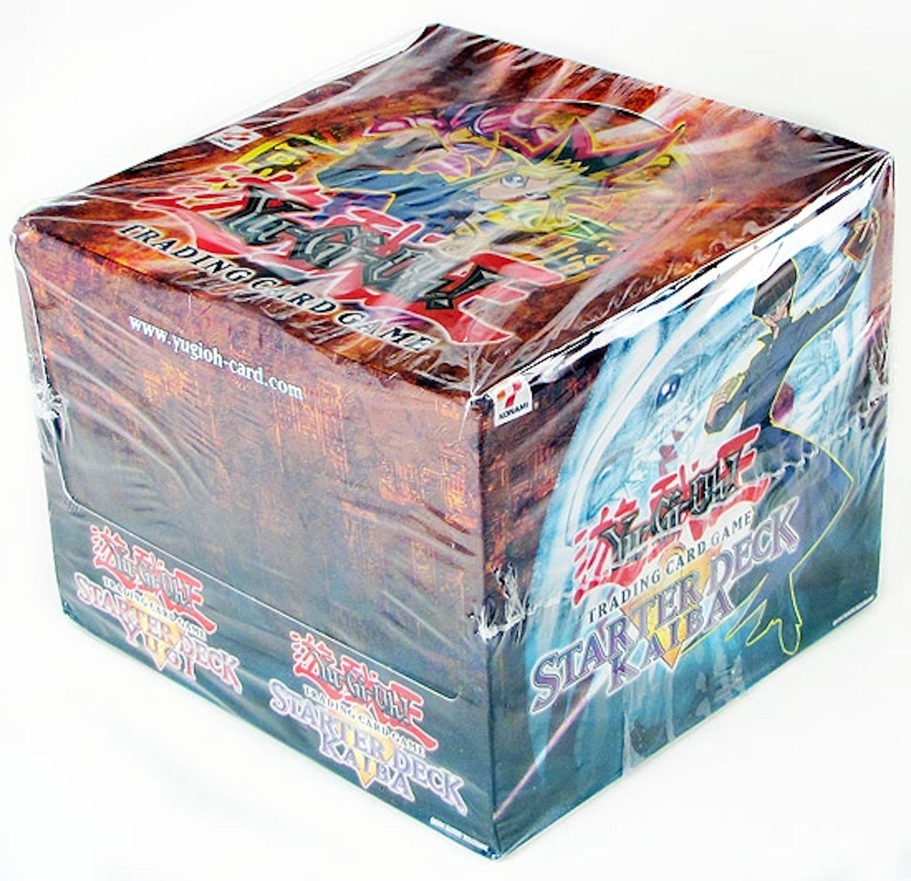 Yu-Gi-Oh Yugi/Kaiba 1st Edition Starter Deck Box